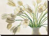 Bouquet di Tulipani Stretched Canvas Print by Eva Barberini