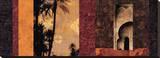 Marrakesh Sträckt kanvastryck av Chris Donovan