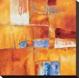 Intensita II Stretched Canvas Print by Claudia Raimondi