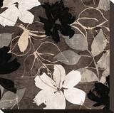 Fleurs IV Pingotettu canvasvedos tekijänä Sylvie Cailler