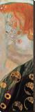Danae (detail) Reproducción de lámina sobre lienzo por Gustav Klimt