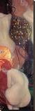 Guldfisk Sträckt kanvastryck av Gustav Klimt