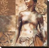 Aphrodite Sträckt kanvastryck av Sylvie Bellaunay