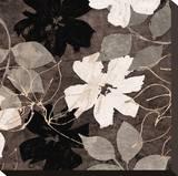 Fleurs III Pingotettu canvasvedos tekijänä Sylvie Cailler