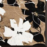 Fleurs II Pingotettu canvasvedos tekijänä Sylvie Cailler