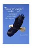 Isaiah 40:31 - Inspirational Pósters por  Lantern Press