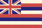 Hawaii State Flag Posters by  Lantern Press