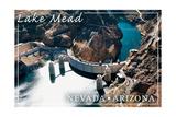 Lake Mead, Nevada - Arizona - Hoover Dam View Prints by  Lantern Press