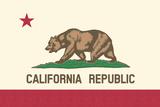 Kaliforniens flagga Posters av  Lantern Press