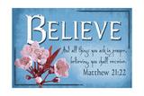 Matthew 21:22 - Inspirational Poster von  Lantern Press