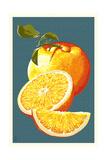 Appelsiinit Posters tekijänä  Lantern Press
