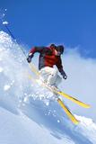 Skieur Affiche par  Lantern Press