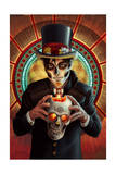Day of the Dead - Man and Candle Posters by  Lantern Press