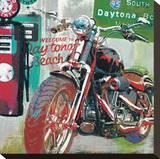 Daytona Beach Stampa su tela di Ray Foster