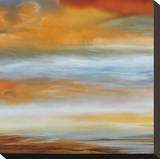 Earth and Sky I Stretched Canvas Print by Matt Russel