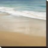 Surf and Sand I Opspændt lærredstryk af John Seba