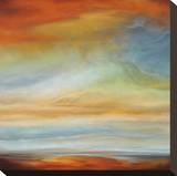 Earth and Sky II Stretched Canvas Print by Matt Russel