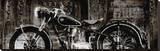 Vintage Motorcycle Stampa su tela di Dylan Matthews