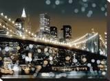 New York II Opspændt lærredstryk af Kate Carrigan