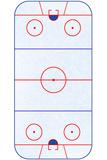 Hockey Rink Layout Sports Poster Kunstdruck