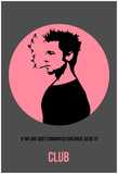 Club Poster 1 Affiches par Anna Malkin