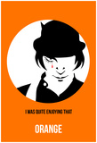 Orange Poster 2 Prints by Anna Malkin