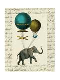 Elephant Ride I v.2 Prints by Sue Schlabach