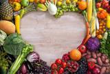 Heart Shaped Food 写真プリント : Romario Ien