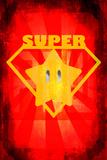 Super Star 2 Targa di plastica