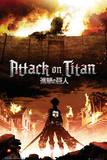 L'attaque des titans Posters