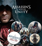 Assassins Creed Unity - Characters Badge Pack Spilla