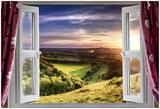Amazing Window View Láminas por  MrEco99