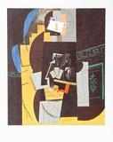Card Player Posters por Pablo Picasso