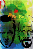 Br Ba Watercolor 2 Posters by Anna Malkin