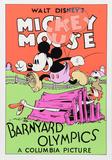 Mickey Mouse: Barnyard Olympics Art