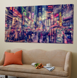 New York Abstract II Posters par  Jefd