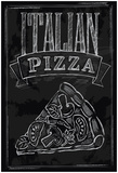 Chalk Pizza Posters by  bioraven