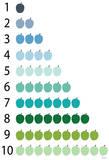 Cool Counting Apples Julisteet tekijänä  Avalisa