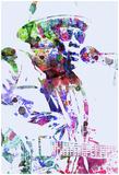 Lee Hooker, John Posters par  NaxArt