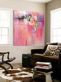 Orchidée rose Art par Carole Malcolm