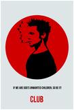 Club Poster 2 Poster von Anna Malkin