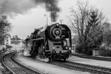 Old Steam Train Lámina fotográfica por  Rebec