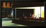 Nighthawks, Noctambules ou Les oiseaux de nuit, 1942 Art par Edward Hopper