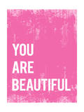 Tekst: You Are Beautiful (Je bent mooi) Posters