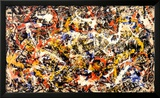 Convergence Posters by Jackson Pollock