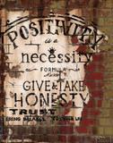 Positivity Poster di Luis Sanchez