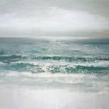 Wellen Kunstdruck von Caroline Gold