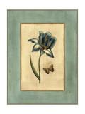 Crackled Spa Blue Tulip I Art by  Vision Studio