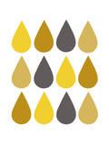 Raindrops II Print by Chariklia Zarris