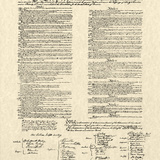 Constitution Document Poster